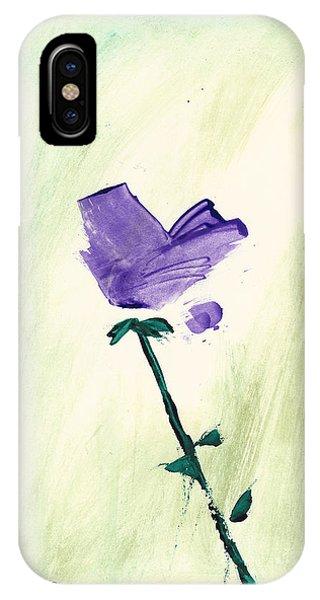 Violet Solo IPhone Case