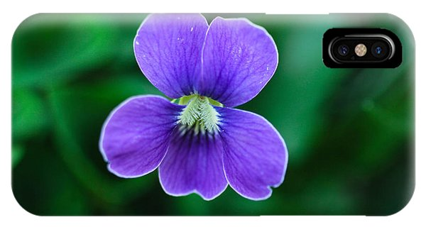 Violet Splendor IPhone Case