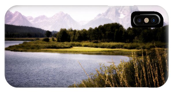 Violet Tetons IPhone Case