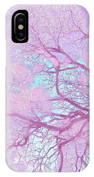 Violet Tree IPhone Case