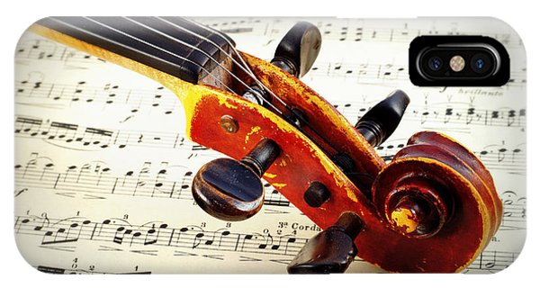 Violine IPhone Case