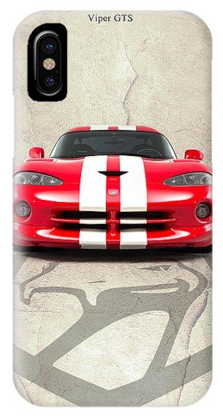 Viper iPhone Case - Viper Gts by Mark Rogan