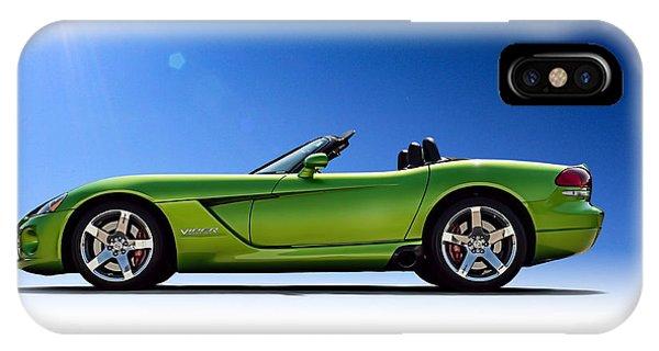Mancave iPhone Case - Viper Roadster by Douglas Pittman