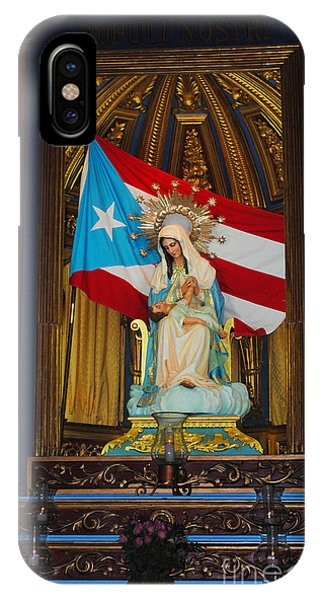 Virgin Mary In Church IPhone Case