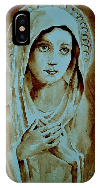 Virgin Mary IPhone Case