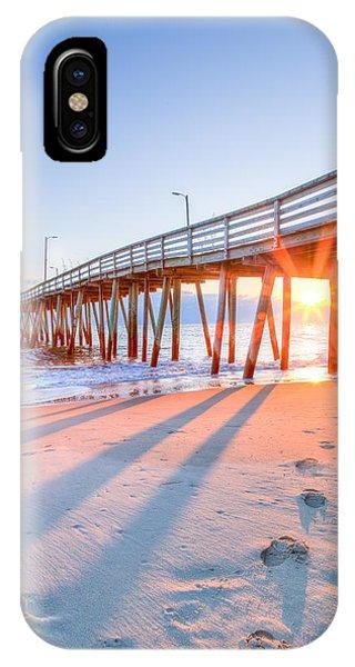 Virginia Beach Fishing Pier IPhone Case