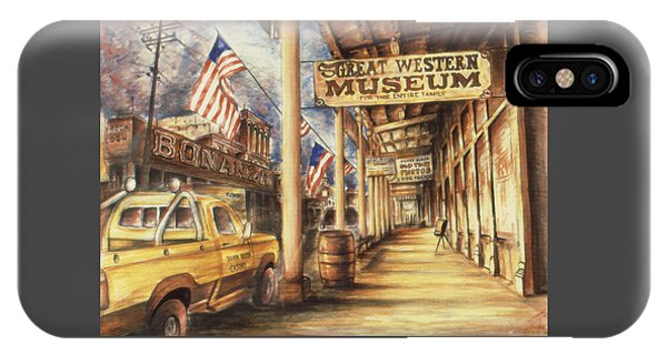 Virginia City Nevada - Western Art IPhone Case
