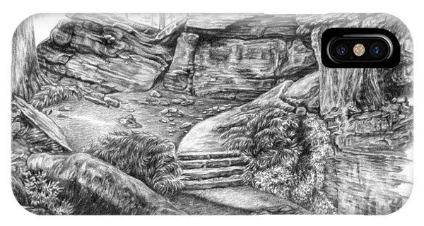Virginia Kendall Ledges - Cuyahoga Valley National Park IPhone Case