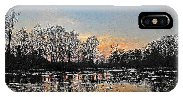 Virginia Landscape Art #1b IPhone Case