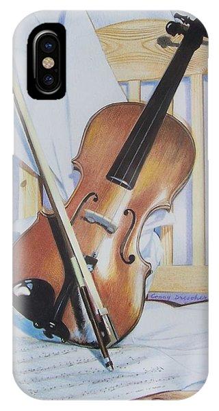 Virginia's Violin IPhone Case