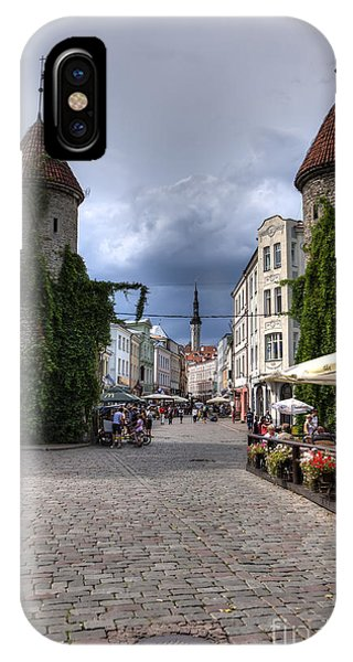 Viru Gate Tallinn Estonia IPhone Case