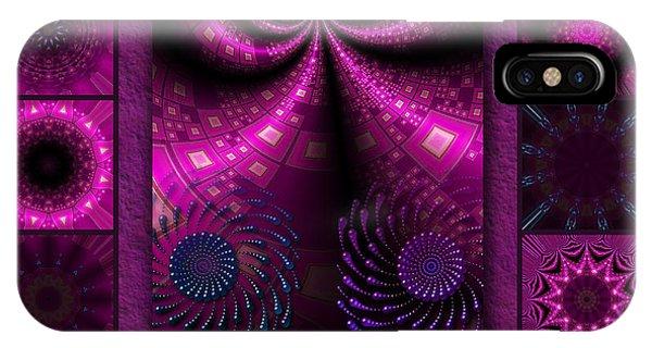 Virulent Lightwaves Redux  IPhone Case