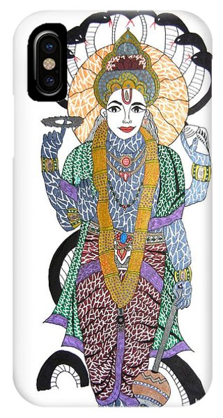 Vishnu II IPhone Case