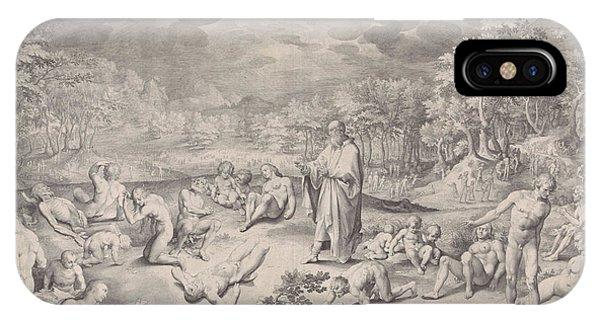 Vision Of Ezekiel Across The Valley Of Bones IPhone Case