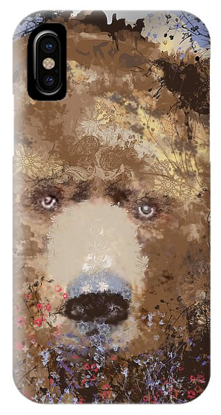 Visionary Bear IPhone Case