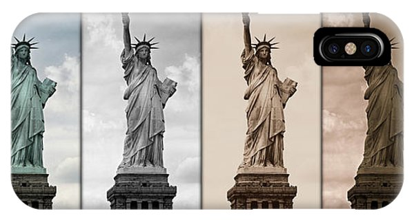 Visions Of Liberty IPhone Case