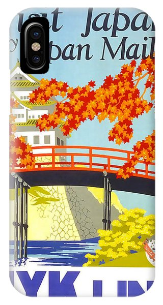 Visit Japan IPhone Case