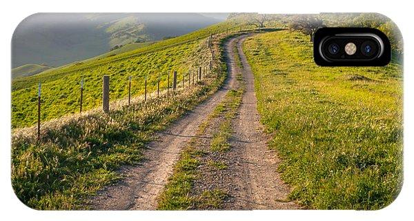 Vista Grande Trail And Mt Diablo IPhone Case