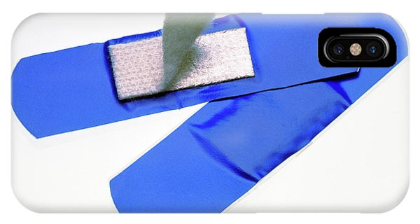 Visually And Magnetically Detectable Plaster Phone Case by Sheila Terry/science Photo Library