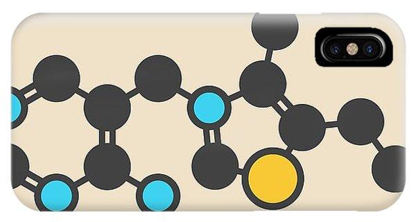 Vitamin B1 Molecule IPhone Case
