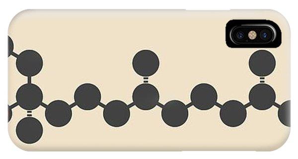 Vitamin E Molecule Phone Case by Molekuul