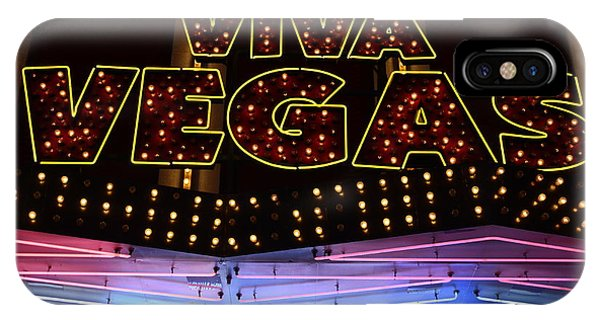 Viva Vegas Neon IPhone Case