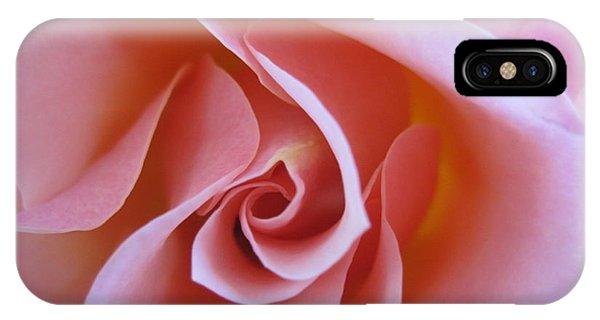 Vivacious Pink Rose IPhone Case