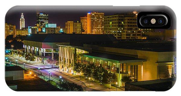 Vividly Downtown Baton Rouge IPhone Case