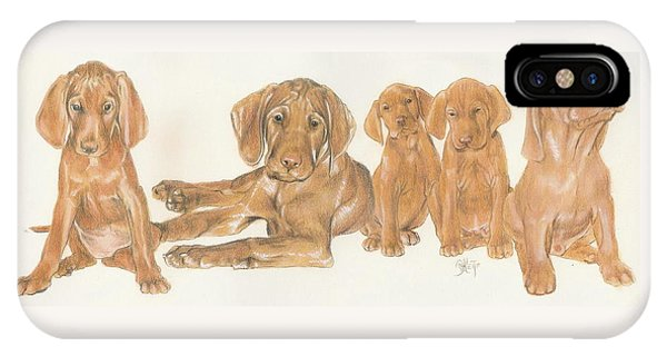 Vizsla Puppies IPhone Case