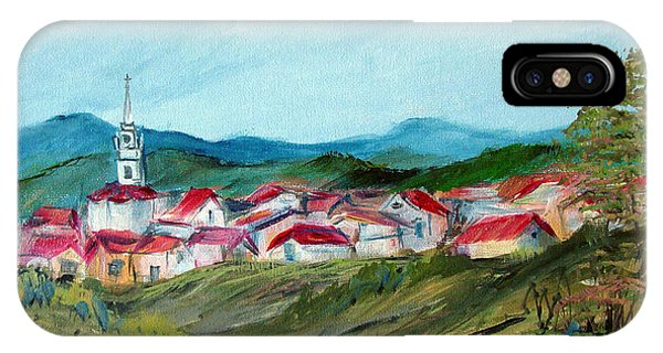 Vladeni Ardeal - Village In Transylvania IPhone Case