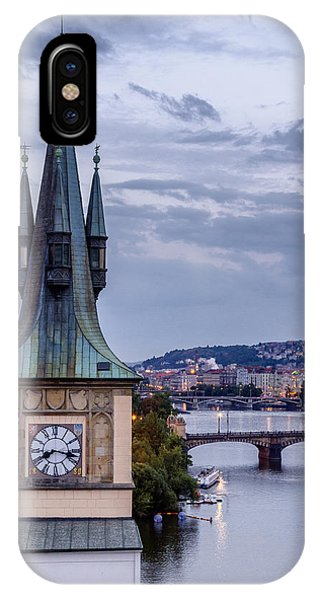 Vltava River In Prague IPhone Case