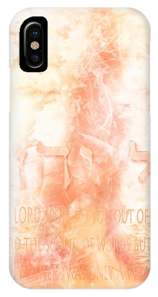 Voice Of Fire IPhone Case