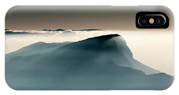 French iPhone Case - Voile Alpin by Jean-louis Viretti
