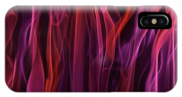 Flow iPhone Case - Volatile Curtains by Heidi Westum