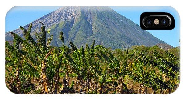 Volcan Concepcion Nicaragua IPhone Case