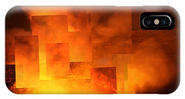 Volcanic Fire - Kilauea Caldera  IPhone Case