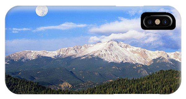 Volcanic Pikes Peak IPhone Case