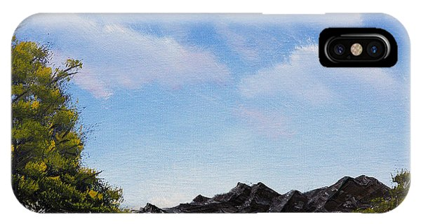 Volcanic Rock Lagoon IPhone Case
