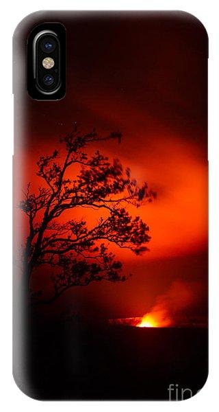 Volcano National Park Hawaii IPhone Case
