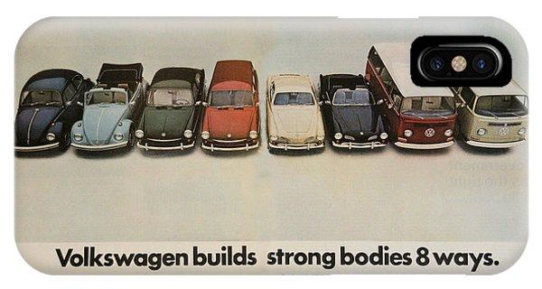 Volkswagen Builds Strong Bodies 8 Ways IPhone Case