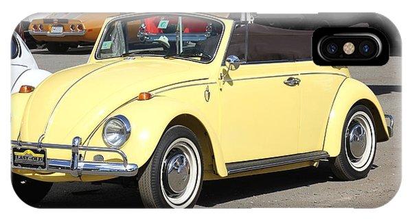 Volkswagen Convertible Vintage IPhone Case