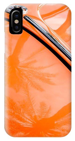 Volkswagen iPhone Case - Volkswagen Vw Bug - Beetle Emblem -0164c by Jill Reger