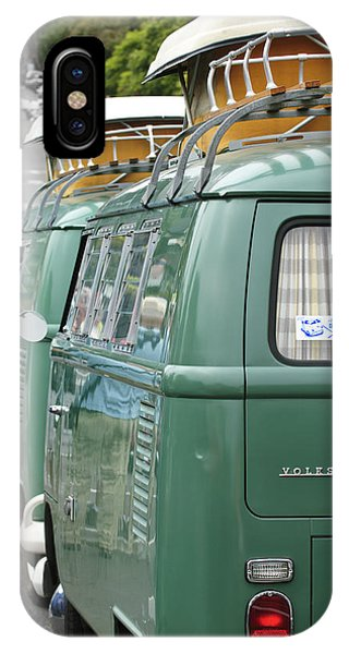 Volkswagen iPhone Case - Volkswagen Vw Bus by Jill Reger
