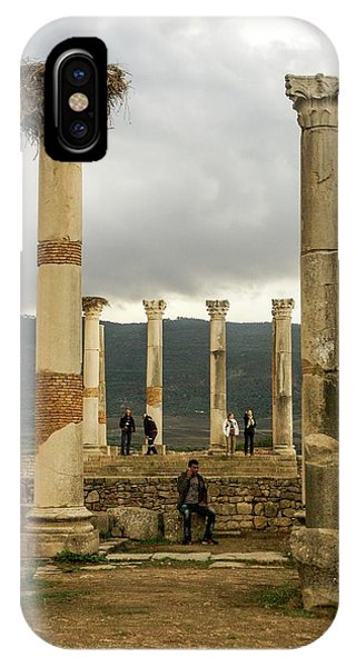 Volubilis Archeological Site Phone Case by Photostock-israel