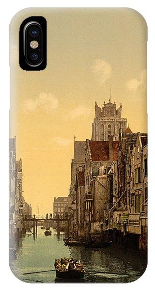 Holland iPhone Case - Voorstraatshaven by Georgia Fowler