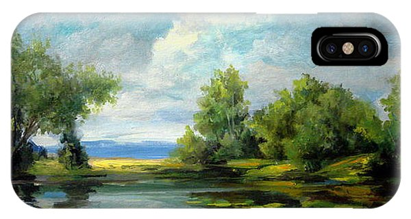 Voronezh River Beauty IPhone Case