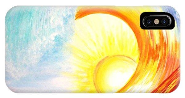 Vortex Wave IPhone Case