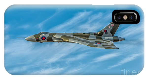 Bomber iPhone Case - Vulcan Bomber by Adrian Evans