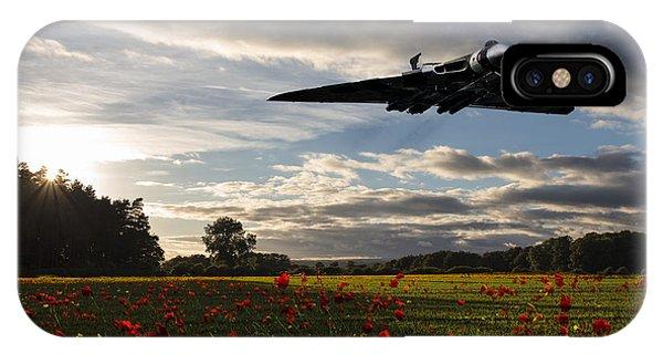 Poppies iPhone Case - Vulcan History by J Biggadike