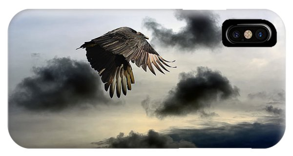 Vulture Sky IPhone Case